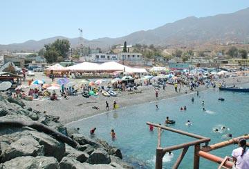 AT CEDROS ISLAND--The scene of the Torneo de Pesca Isla de Cedros