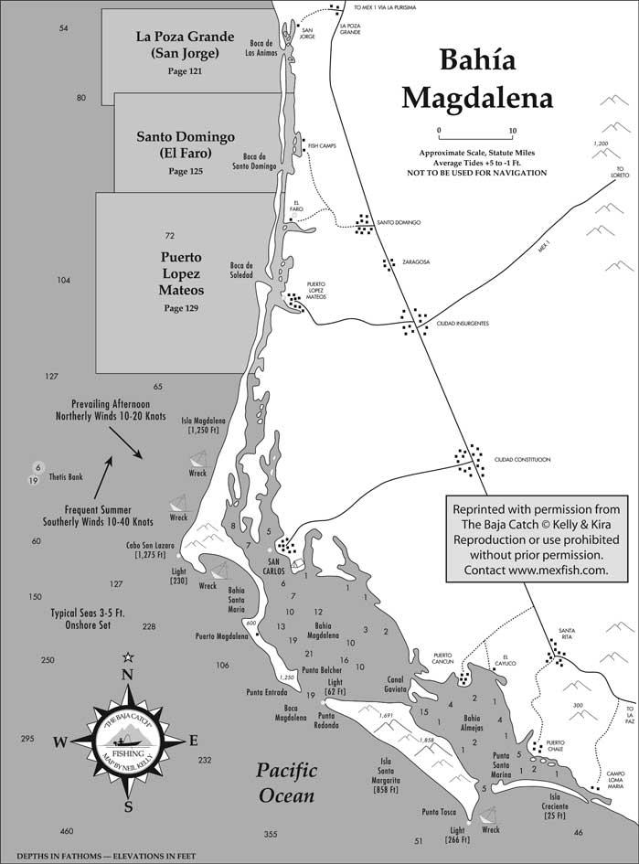 Bay Fishing Map