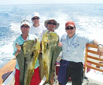 Loreto summer dorado fishing busts wide open northern for San carlos mexico fishing