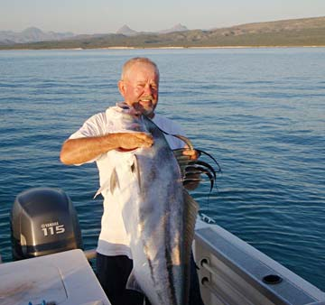 More big cow tuna caught during fishing at puerto vallarta for Loreto mexico fishing