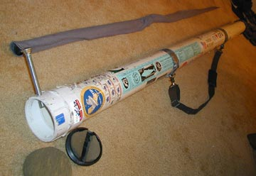 A sturdy homemade fishing rod case for los cabos for Fishing rod case diy